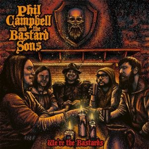 PHIL CAMPBELL AND THE BASTARD SONS - We're the bastards - CD