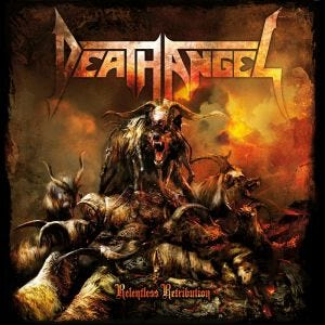 DEATH ANGEL - Relentless retribution - CD