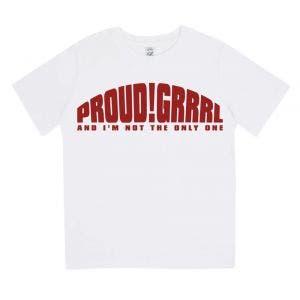BLUES PILLS - Proud!Grrrl KIDS SHI weiß - T-Shirt