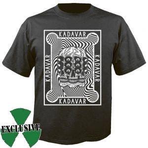 KADAVAR - Skull schwarz - T-Shirt