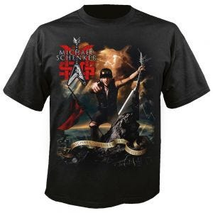 MSG (MICHAEL SC - Immortal cover schwarz - T-Shirt