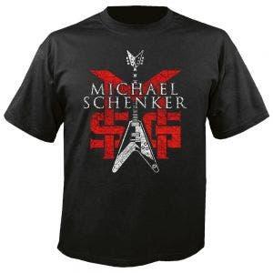 MSG (MICHAEL SC - Group logo schwarz - T-Shirt