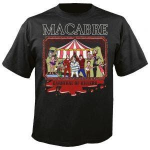 MACABRE - Carnival of killers schwarz - T-Shirt