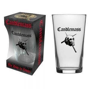 CANDLEMASS - The door to doom PINT GLAS - Glas