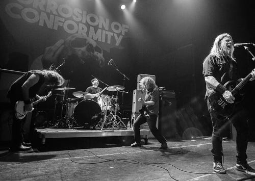 CORROSION OF CONFORMITY - announce tour!