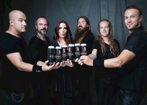 """EPICA - launches """"Epica""""-Beer!"""