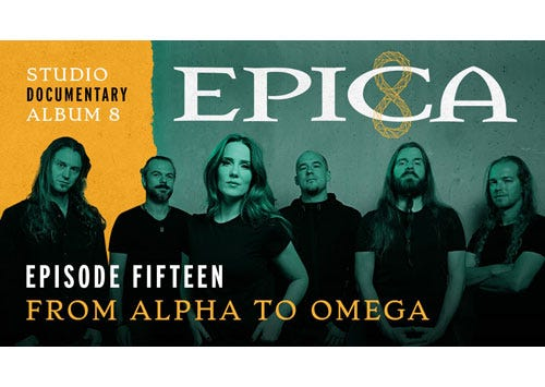 EPICA - Reveal New Vlog: From Alpha To Omega!