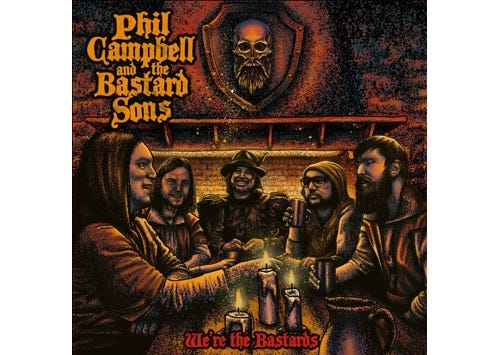 PHIL CAMPBELL AND THE BASTARD SONS - Album!